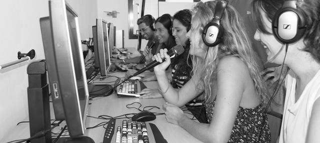 Imagen de salidas profesionales del Doble Grado en Periodismo y Comunicación Audiovisual del CESAG (UIB)