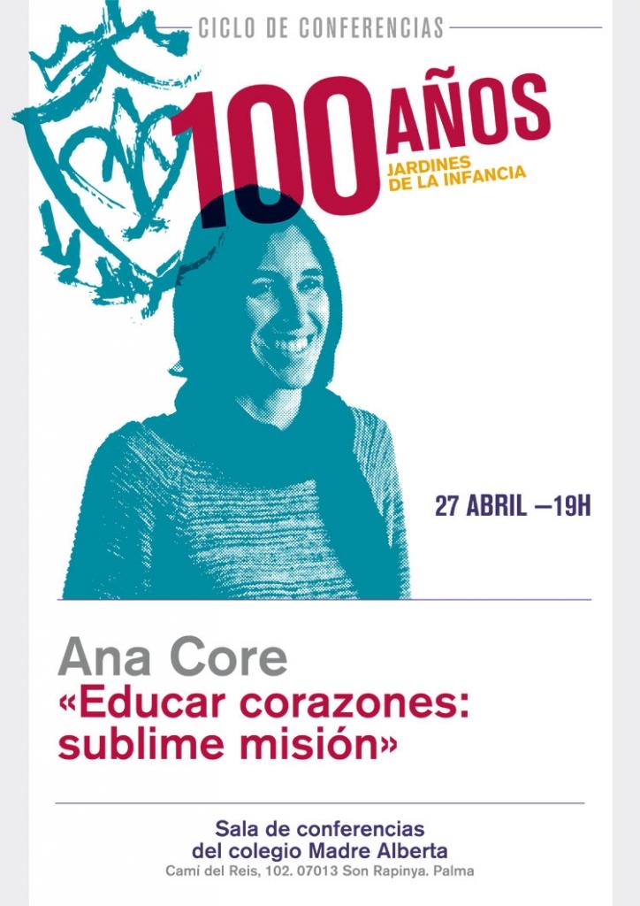 Conferencia de Ana Core en Madre Alberta