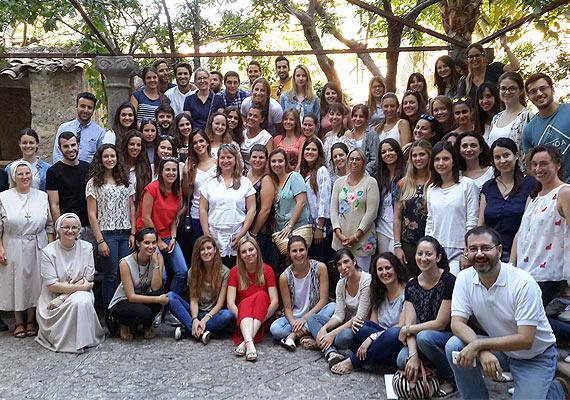 Imagen de grupo del seminario presencial de la DECA en Valldemossa 2016