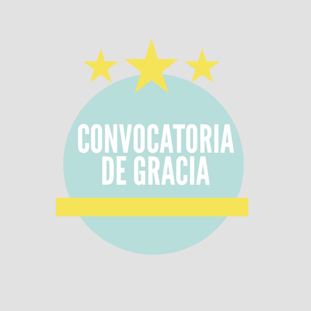 Información sobre 5ª, 6ª y convocatoria de gracia en asignaturas de 2º en adelante de los grados del CESAG