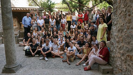 Imagen de los asistentes al seminario presencial de la DECA en Valldemossa de 2019